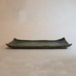 織部焼きの板皿の画像