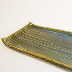織部 板皿の画像