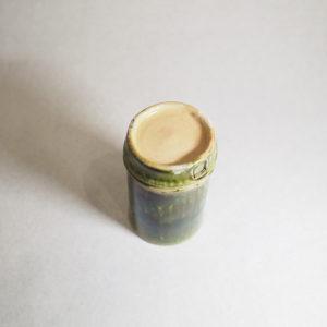 竹モチーフの陶器カップの画像