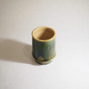 竹モチーフの陶器のフリーカップの画像