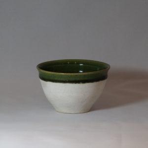 織部 小服茶碗